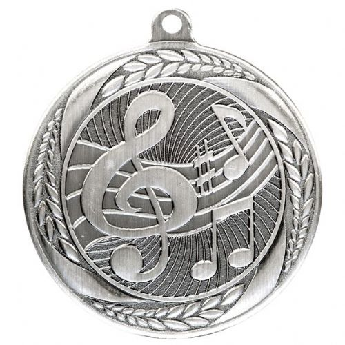 Typhoon Music Medal Silver 55mm
